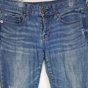 Blue-jean denim pants